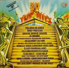 """12"""" LP - Various - 20 Top-Hits - B443 - washed & cleaned"""