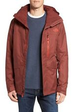NEW The North Face Gatekeeper Waterproof Jacket - Hot Chocolate Brown - Large