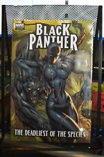 Black Panther The Deadliest of Species Marvel Premiere Hardcover NEW SEALED RARE