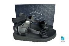 New In Box Authentic PRADA Mens Sandals Shoes US11 EU44 UK10 4X3107