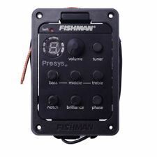 Fishman 201 Presys+ Onboard Guitar Preamp Piezo Pickup 4-Band EQ Equalizer Tuner