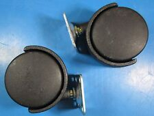 """2"""" Dual Wheel Plate Caster #603-5984 Pack Contains (2) Wheels"""