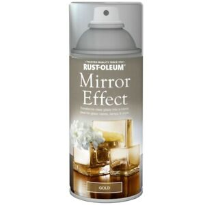 Rust-Oleum Mirror Effect Spray Paint Gloss Finish - 150ml