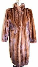 Ranch Mink Coat  Caskie CanadaVTG 1980s Light Brown Mint Finest Fur M 8