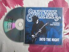 Santana Feat. Chad Kroeger Into The  Night UK Promo CD Single