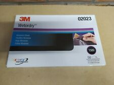 3M 1500 GRIT WET OR DRY ABRASIVE SAND PAPER 140 X 228 MM MICRO FINE 02023 CAR