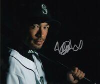 Ichiro Suzuki 8x10 SIGNED PHOTO AUTOGRAPHED ( Mariners ) REPRINT '