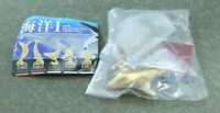 Nature Techni Colour Gold Dolphin Figure  Authentic  Kitan Club Japan E862