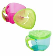 Tommee Tippee Essential 2 X Feeding Plates 12 Mths Bpa Free New Sturdy Construction Baby