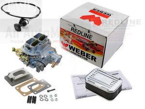 Weber Carb Kit 32/36 DGV Manual Choke fits Subaru 1976-1989 1600/1800 OHV EA71