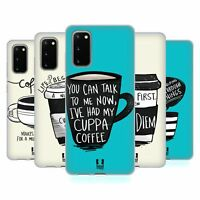 HEAD CASE DESIGNS COFFEE FIX SOFT GEL CASE FOR SAMSUNG PHONES 1