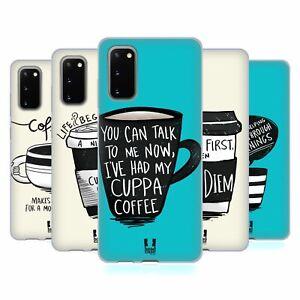 HEAD CASE DESIGNS COFFEE FIX SOFT GEL CASE FOR SAMSUNG PHONES 1