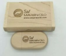 Wooden USB flash drive pen drives Maple wood+Packing box 4GB  memory