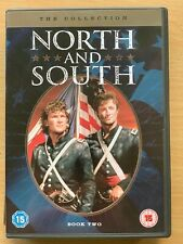 North and South Book 2 DVD Box Set 1986 American Civil War Mini Series