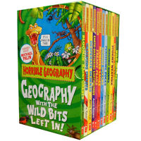 Horrible Geography Collection 12 Books Box Gift Set Histories Science Series PB