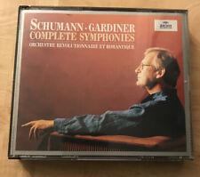 "John Eliot Gardiner ""Schumann: Complete Symphonies"" 1998 Archiv import 2-CD"