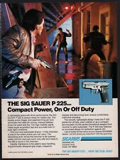 1991 Sig Sauer P225 Pistol Police Ad Compact Power On or Off Duty