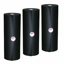 [1,49€/kg] 3 Rollen FANODUST Schrenzpapier Packpapier 95 g/m² schwarz 40 cm
