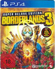 Borderlands 3 Super Deluxe Steelbook Edition (PS4) (New) (Uncut)