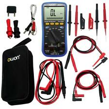 OWON large LCD B35T+ Multimeter Bluetooth TL809 FLUKE Test Leads TLP20157 USA