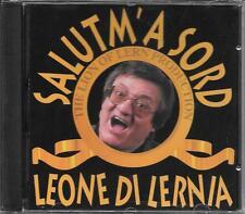 """LEONE DI LERNIA - RARO CD FUORI CATALOGO CELOPHANATO """" SALUTM' A SORD """""""