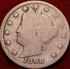 1898 Philadelphia Mint Liberty Nickel