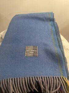 Vitra Color Block Throw Blanket DWR Hella Jongerius Black Blue