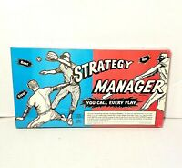 Strategy Manager Baseball Game 1967 Robert McGuffin Sealed New Old Stock Vintage