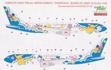 Boeing 767 ANA All Nippon Airways Pokemon Brasil Decals 144-321 1/144