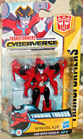 Windblade Transformers Cyberverse Turbine Thrash Scout Class Action Figure New