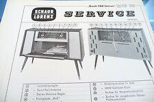 Service Manual-Istruzioni per Schaub-Lorenz DUETTO 700 stereo, 17250-17253