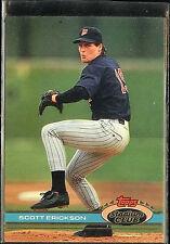 Scott Erickson Twins 1991 Topps Stadium Club  #560