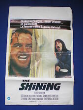 The Shining  Belgium  Film Poster  1980