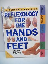 Book, Reflexology for the Hands and Feet by Gillian Soutar, 1999, PB 1st edition