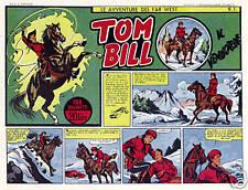 Tom Bill ristampa completa della prima serie 20 albi