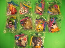 Subway 1999 Mil-looney-um Looney Tunes clips set of 10 *MIP*