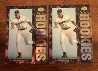 1994 Upper Deck #24 Alex Rodriguez Rookie Card Lot. Mariners, New York Yankees.