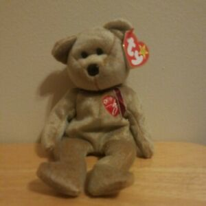 Ty 1999 Signature Bear Beanie Baby With Tag (Read Carefully)