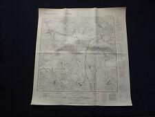 Landkarte Meßtischblatt 3460 Prittisch / Przytoczna in der Neumark, von 1940