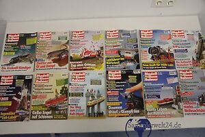 alte Zeitschrift Modelleisenbahner Jahrgang 1997 1-12