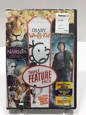 New Triple Feature Pack DVD Narnia Diary of a Wimpy Kid Percy Jackson Digital
