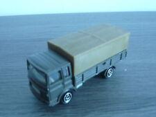 Majorette 1//100 Saviem Truck /& tráiler hängerzug sernam azul OVP #519