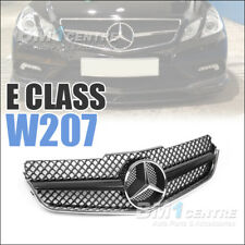 Front Mesh Grille Grill For Mercedes Benz E Class W207 A207 C207 Coupe 2009-2013