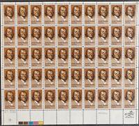 USA Briefmarken Bogen 50x 20 Cent 1983 Joseph Priestley #30697-S