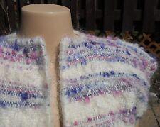 Size Large 100% MOHAIR vest! Fuzzy!