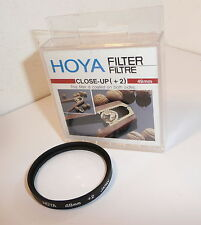 HOYA 49 mm Close-Up + 2 Filtro Original Estuche Y Limpia (0088)