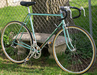 Vintage Motobecane Bicycle Grand Sprint Celeste 57cm Road Bike Vitus France 1980