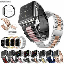 Stainless Steel Band Strap For Apple Watch 5 4 3 2 1 iWatch Series 38/40/42/44mm