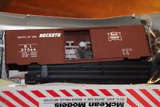 Mckean Master Series 704 ROCK ISLAND Route Rockets #27344 40' PS-1 Boxcar HO Kit