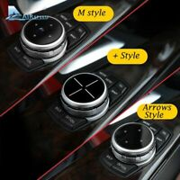Multimedia Buttons Cover iDrive Stickers M Sport BMW Car Navigation System New